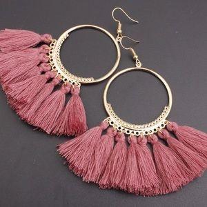 Light weight tassel earrings